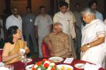 Shri M. Hamid Ansari, Vice President of India, along with the UPA Chairperson, Smt. Sonia Gandhi, Chief Minister of Delhi Smt. Sheila Dikhsit and other dignatries at an Iftar Party hosted by him in New Delhi on September 24, 2007