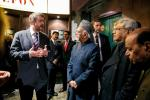 Shri M. Hamid Ansari, Hon'ble Vice President of India visiting the Warsaw Uprising Museum, in Warsaw, Poland on April 28, 2017.